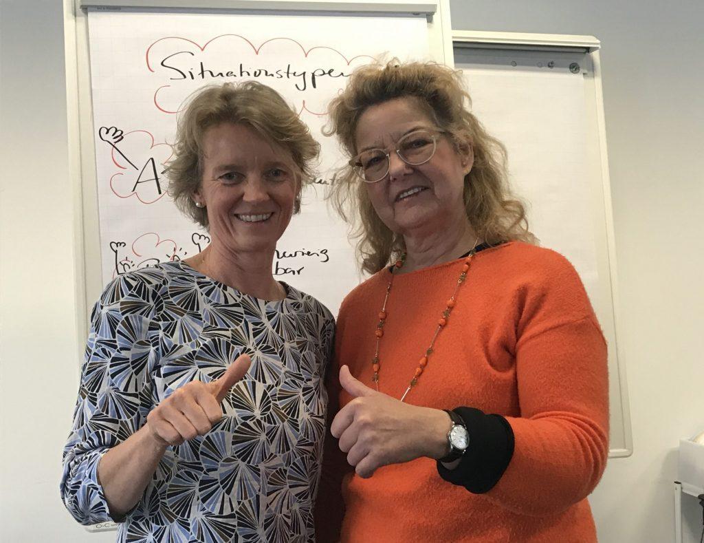 Eva Pauly und Maja Storch